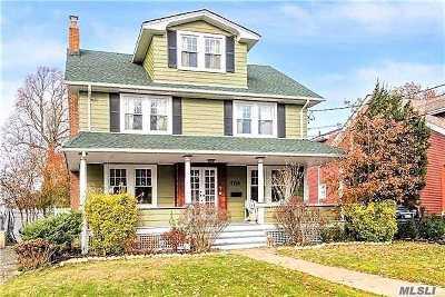 Rockville Centre Single Family Home For Sale: 117 Shellbank Pl