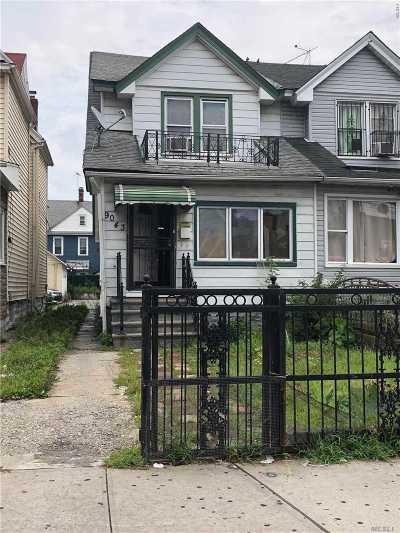 Jamaica Single Family Home For Sale: 90-43 170 Street