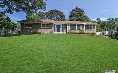 E. Setauket Single Family Home For Sale: 19 Detmer Rd