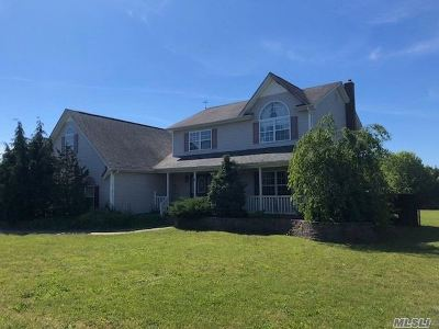 Center Moriches Single Family Home For Sale: 10 Apple Cider Ln