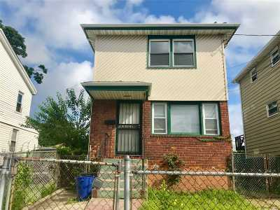 Jamaica Single Family Home For Sale: 176-07 126th Ave