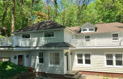 Roslyn Single Family Home For Sale: 7 West Shore