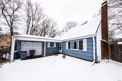 Central Islip  Single Family Home For Sale: 154 Woodland Ave