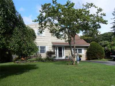 Center Moriches Single Family Home For Sale: 8 E Lakeview Dr