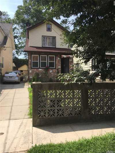 Jamaica Single Family Home For Sale: 191-18 Woodhull Ave