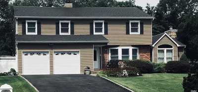 Centereach Single Family Home For Sale: 4 Whispering Pines Ct