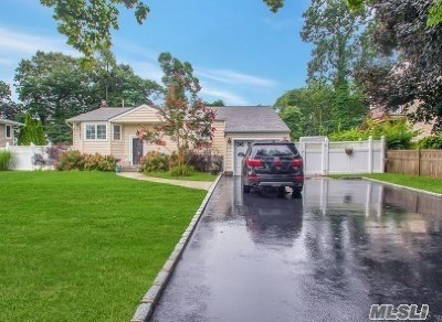 Hauppauge NY Single Family Home For Sale: $469,000
