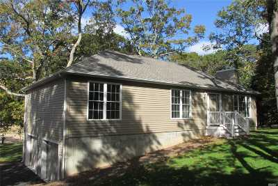 Wading River Single Family Home For Sale: 156 Dog Wood Dr