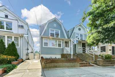 Ozone Park Single Family Home For Sale: 107-30 88th St