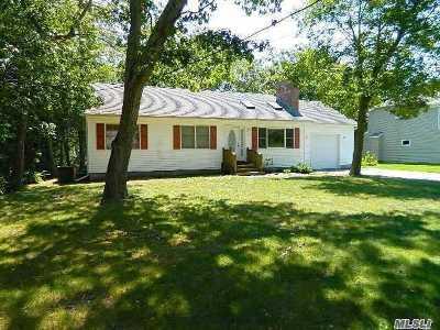 Hampton Bays Single Family Home For Sale: 31 Carter Rd