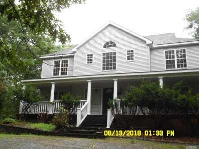 Southampton Single Family Home For Sale: 1455 Majors Path