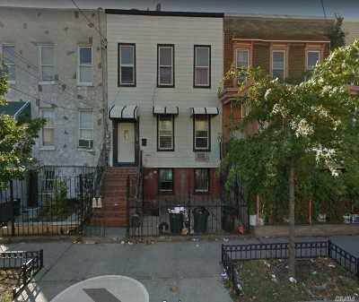Brooklyn Multi Family Home For Sale: 108 Doscher St