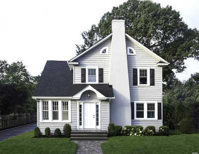 Rockville Centre Single Family Home For Sale: 36 Lexington St