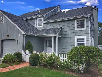 Westhampton Bch Condo/Townhouse For Sale: 18 Brittany Ln