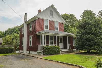 Central Islip  Single Family Home For Sale: 29 Pineville Rd