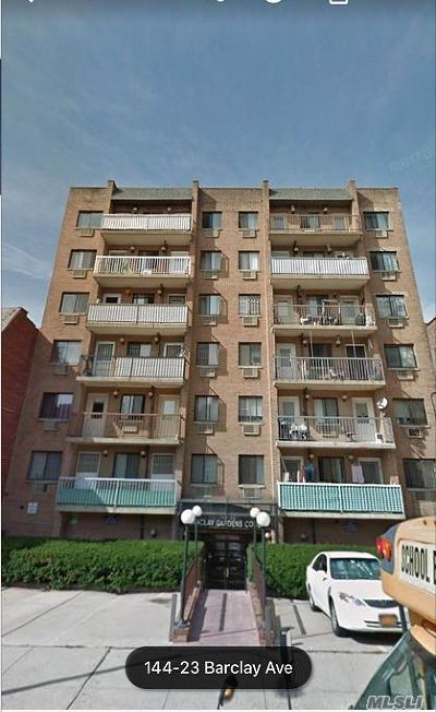 Flushing Condo/Townhouse For Sale: 144-23 Barclay Ave #2A