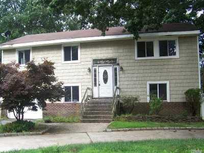Selden Single Family Home For Sale: 26 S Evergreen Dr