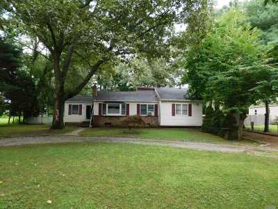 Middle Island Single Family Home For Sale: 5 East St