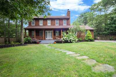 Hampton Bays Single Family Home For Sale: 107 Lynncliff Rd