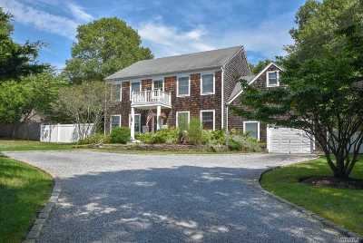 East Hampton Single Family Home For Sale: 121 Waterhole Rd