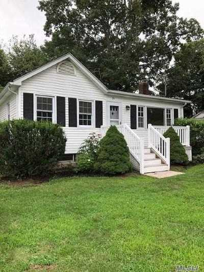 Sound Beach Single Family Home For Sale: 51 Upton Dr