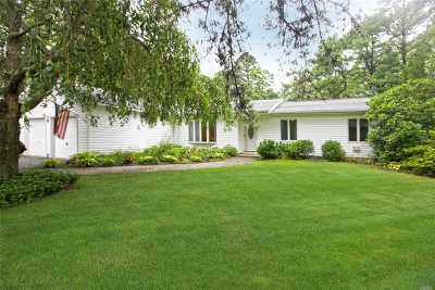 Manorville Single Family Home For Sale: 6 Bruce Dr