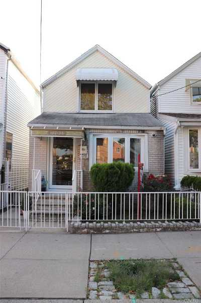 Ozone Park Single Family Home For Sale: 107-38 90th St