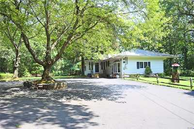 Coram Single Family Home For Sale: 325 C Middle Country Rd