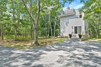 Southampton Single Family Home For Sale: 489 Great Hill Rd