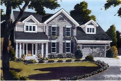 Center Moriches Single Family Home For Sale: N/C Reeves Rd