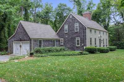 Setauket Single Family Home For Sale: 50 Old Field Rd