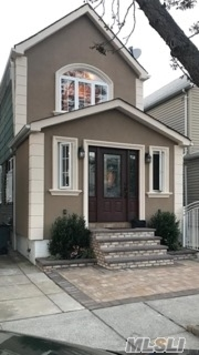 Ozone Park Single Family Home For Sale: 84-13 108 Ave