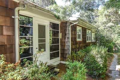 Southampton Single Family Home For Sale: 51 Ridge Rd
