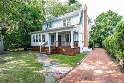 Woodmere Single Family Home For Sale: 72 Brower Ave