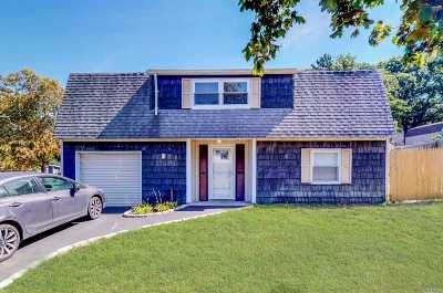 Selden Single Family Home For Sale: 107 Bicycle Path