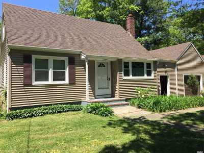 Holbrook Single Family Home For Sale: 126 N Coates Ave