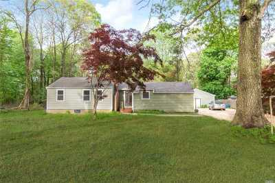 Middle Island Single Family Home For Sale: 331 Swezeytown Rd