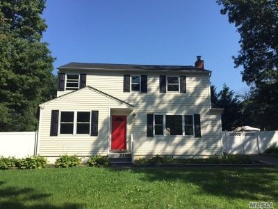 Centereach Single Family Home For Sale: 17 Pine St