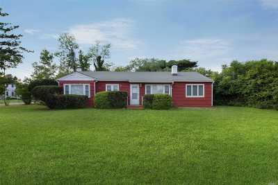 Southampton NY Single Family Home For Sale: $837,000