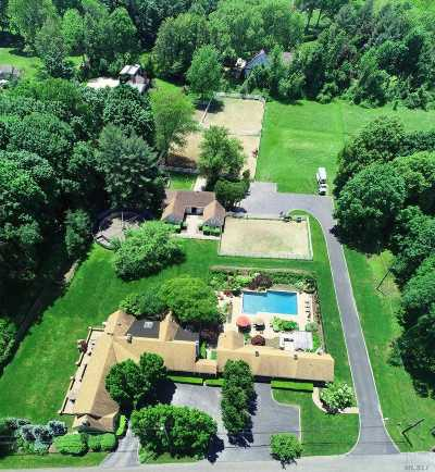 Muttontown Single Family Home For Sale: 6195 Northern Blvd