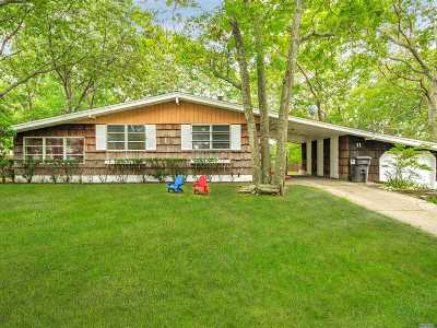 Hampton Bays Single Family Home For Sale: 11 Rolling Hill Rd