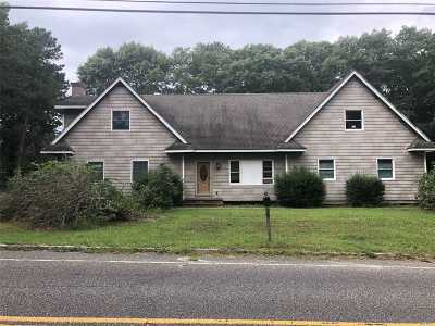 Manorville Single Family Home For Sale: 38 Silas Carter Rd