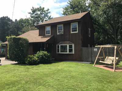 Ridge Single Family Home For Sale: 20 Panamoka Trl