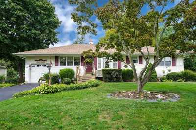 Smithtown Single Family Home For Sale: 5 E Hill Dr