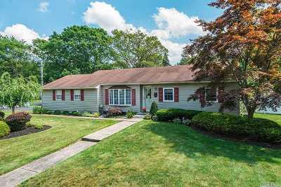 Ronkonkoma Single Family Home For Sale: 500 Joan St