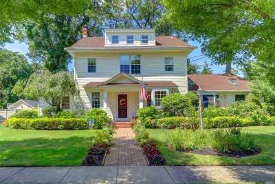 Rockville Centre Single Family Home For Sale: 70 Harvard Ave