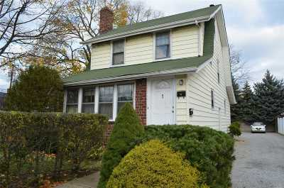 New Hyde Park Single Family Home For Sale: 1 Hoffman Rd