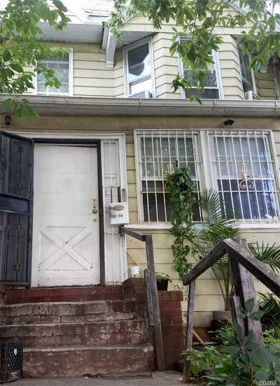 Elmhurst Single Family Home For Sale: 42-54 77th St