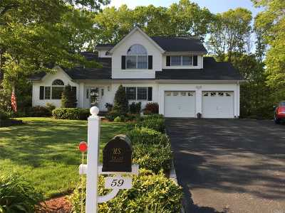 Nesconset Single Family Home For Sale: 59 Sun Hill Rd