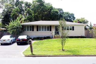 St. James Single Family Home For Sale: 296 Moriches Rd